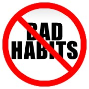 I have a very bad habit... How can I stop it?